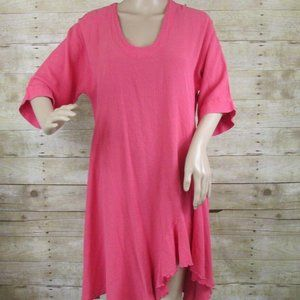 Oh My Gauze! St. Pete Size 1 S/M 6-10 Coral Tunic